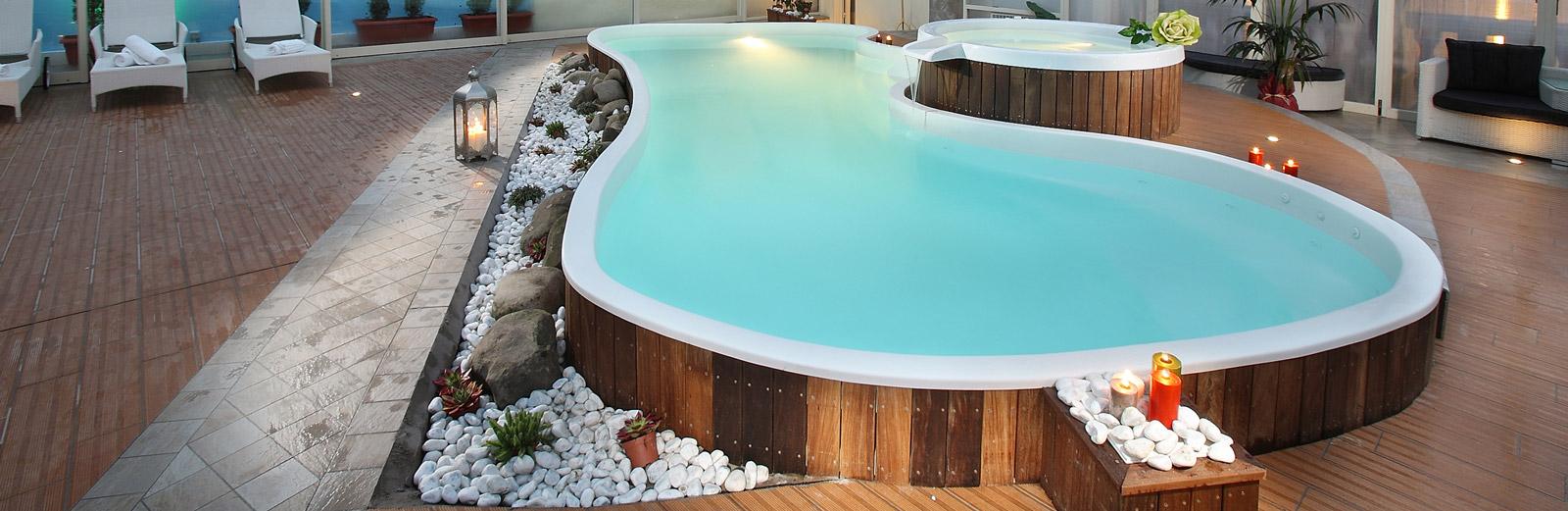 Hotel manzoni montecatini terme piscina coperta ed esterna - Piscine termali montecatini ...